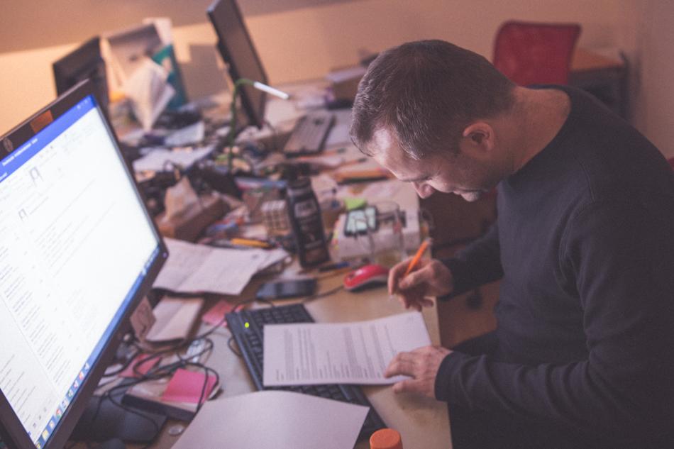 Michal Kaščák v kancelárii