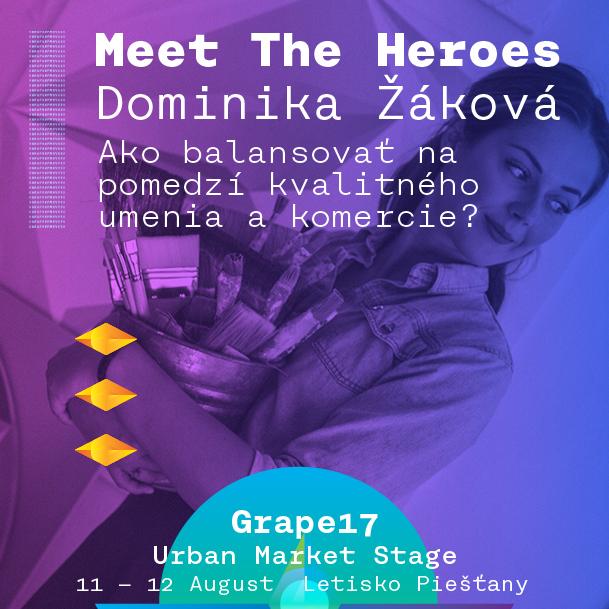 Dominika Žáková pre Heroes
