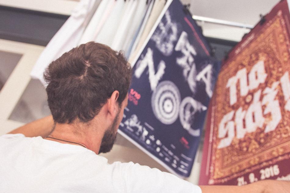 Martin Kossuth ukazuje ich grafické práce