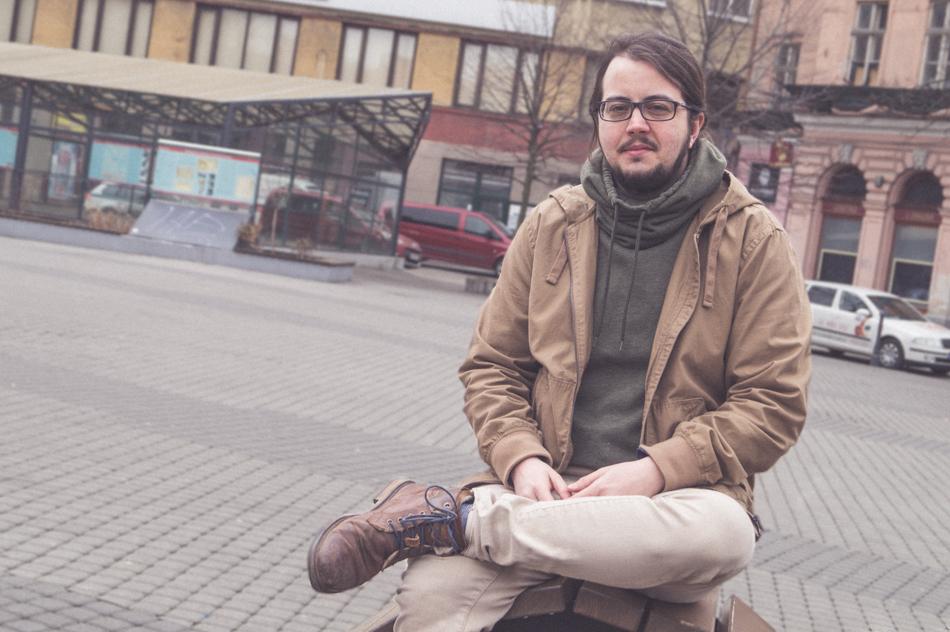 Christián transrodový muž