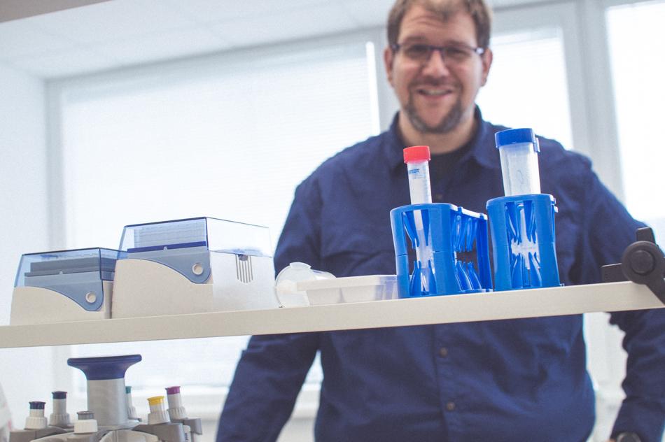 Peter Celec laboratórium