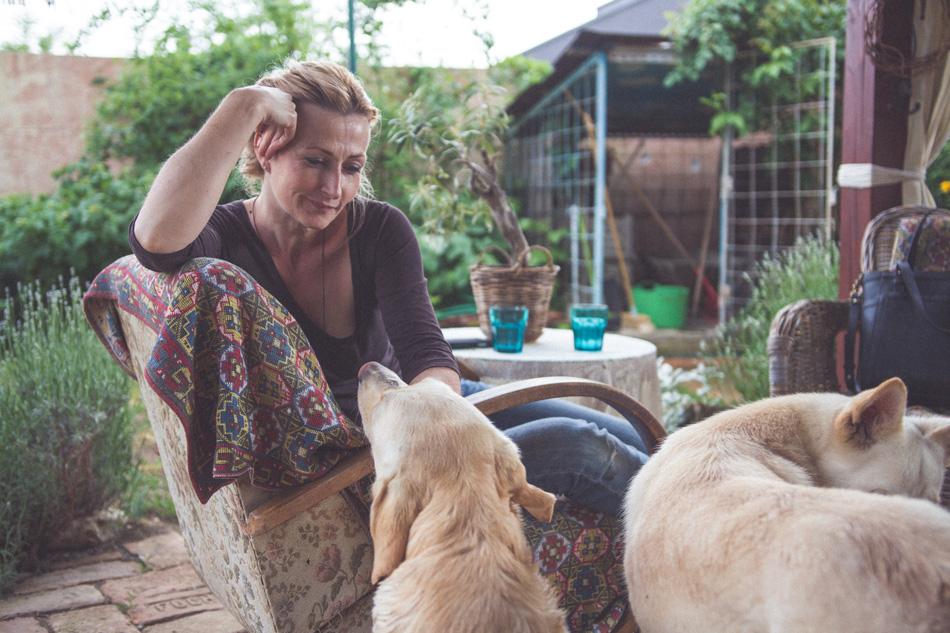 Andrea Geseová so psami