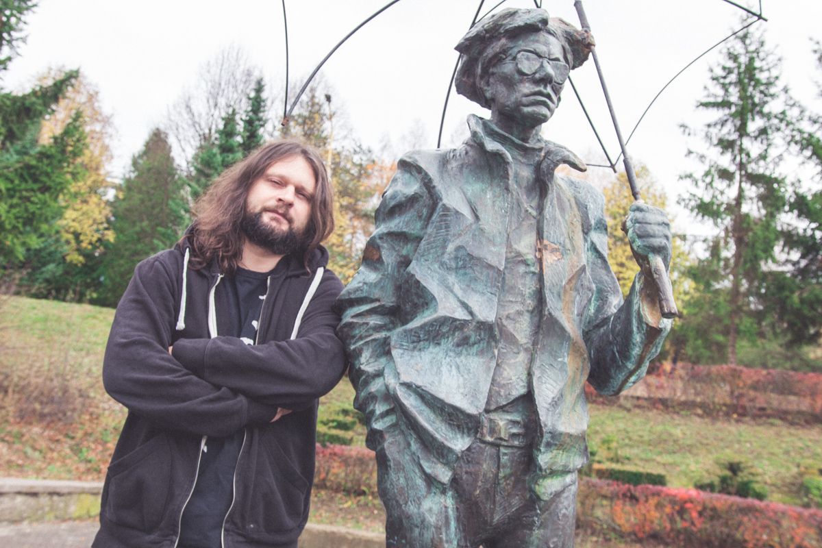 Martin Cubjak a Andy Warhol