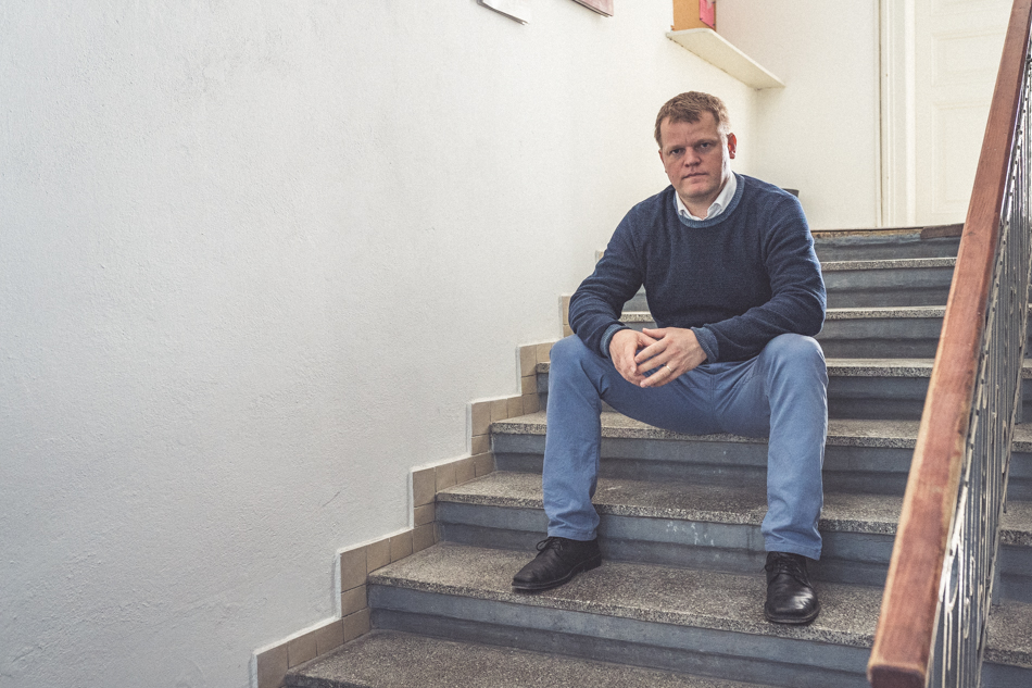 František schody
