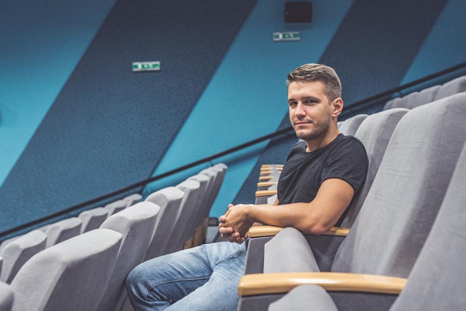 Peter Gašparík v kine