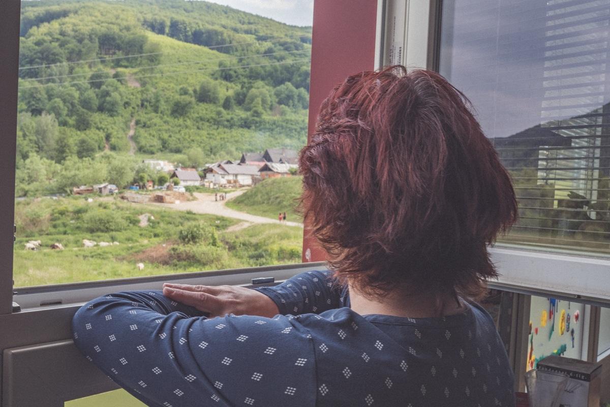 Monika Podolinska osada Rubanka