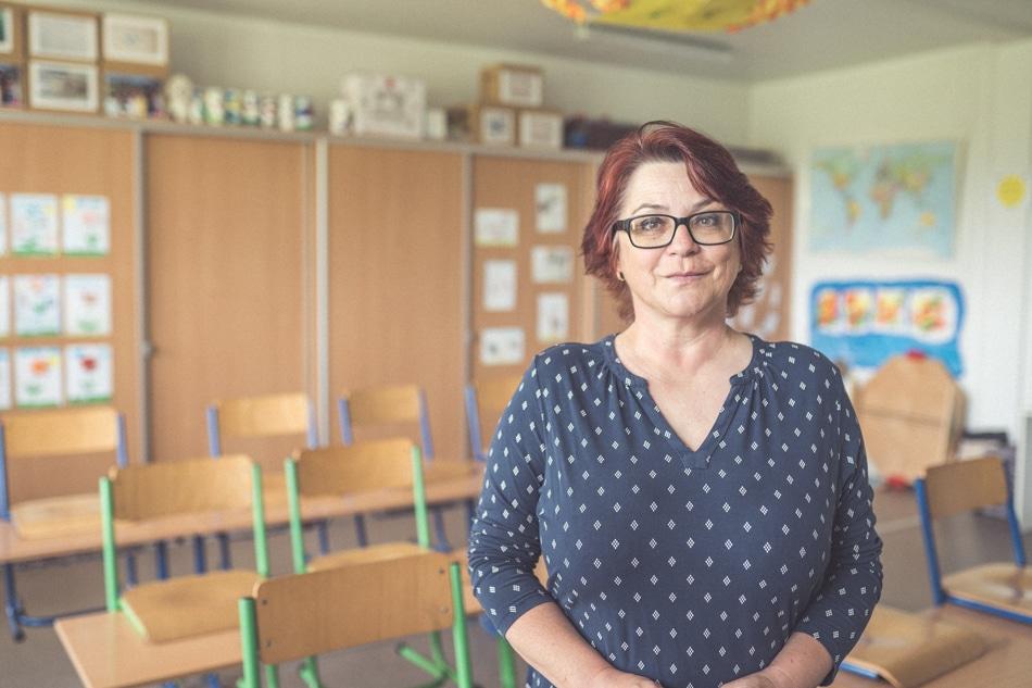 Monika Podolinska ucitelka