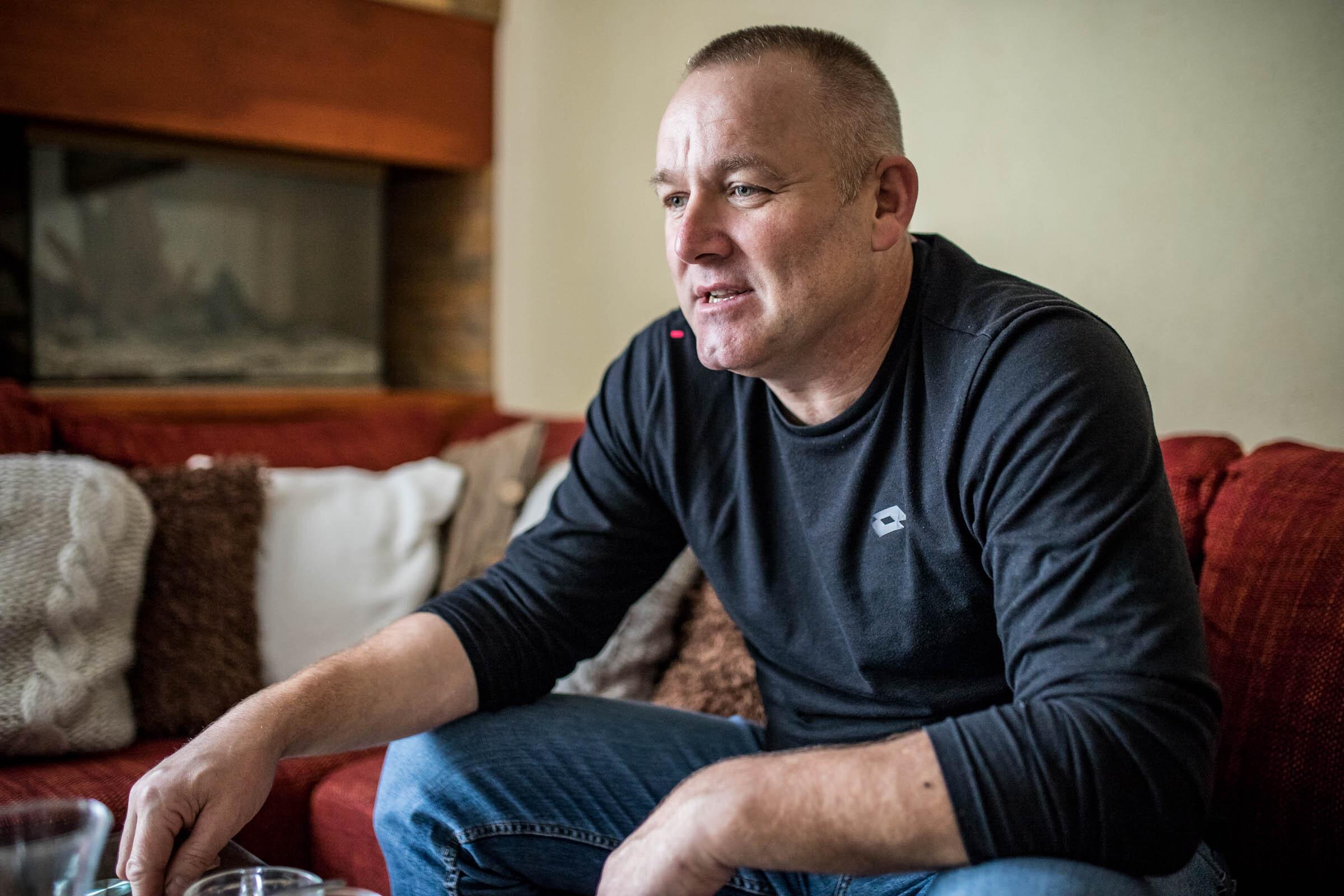Rastislav Šelepský pri rozhovore