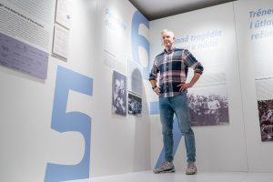 Michal Vaněk a výstava o Leopoldovi Šťastnom