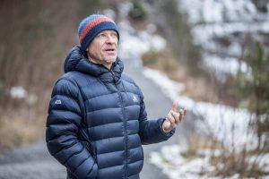 Peter Hámor v lese