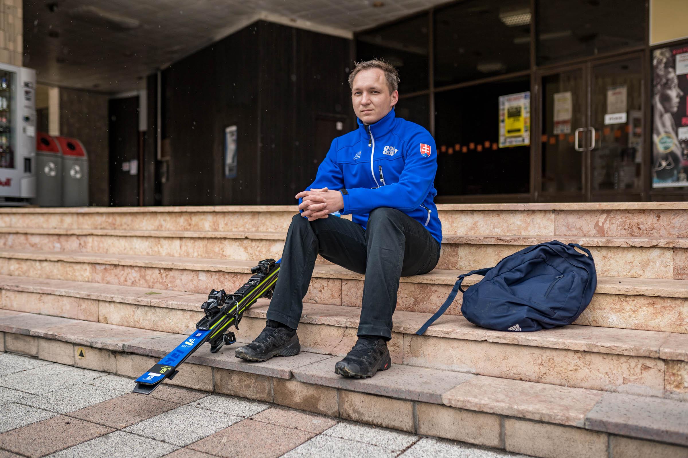 Jakub Krako paralyžiar