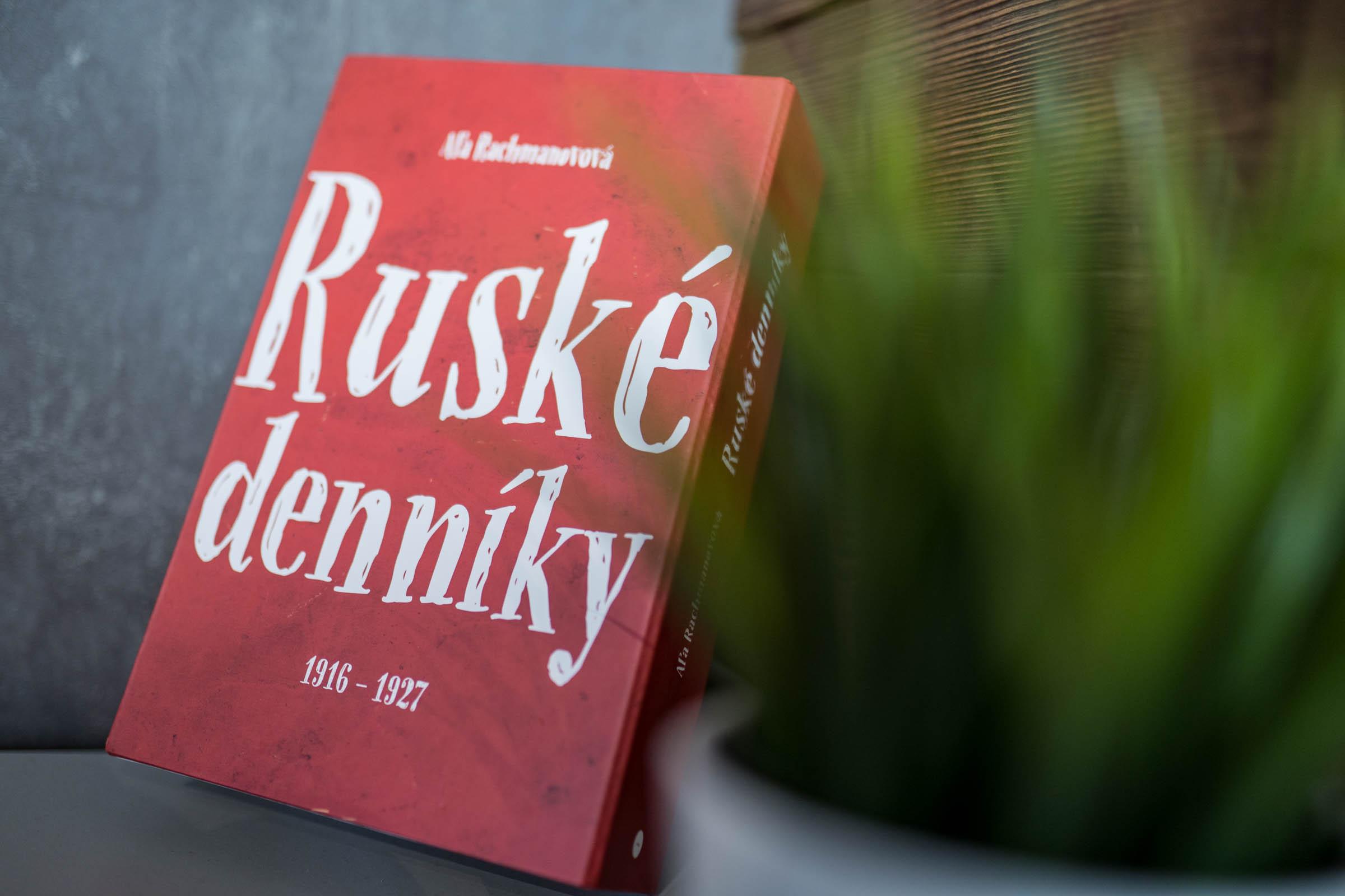 Kniha Ruské denníky